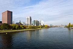 View to skyline of Frankfurt Royalty Free Stock Image