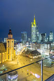 View to skyline of Frankfurt with Hauptwache Royalty Free Stock Photo