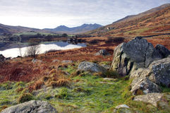 View to Snowdon royalty free stock photos
