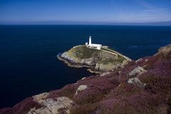 View to South Stack Stock Image