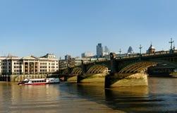 Southwark bridge. Stock Images