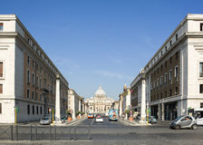 View to St Peter`s Basilica Royalty Free Stock Image