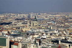 View to St. Stephen's Basilica, Budapest, Hungary. February 2012 Stock Images