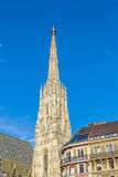 View to St. Stephen's Cathedral in vienna Royalty Free Stock Photography