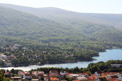 Free View To Starigrad, A Town At Hvar Island Royalty Free Stock Images - 94979309