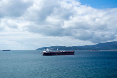 A view to Strait of Gibraltar. Stock Photography