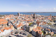 View to Stralsund Stock Image
