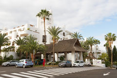 View to the street of Tenerife. Stock Photography
