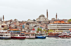 View  to Suleymaniye Mosque, Istanbul Royalty Free Stock Photos