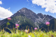 View to summit of Thaneller Royalty Free Stock Images