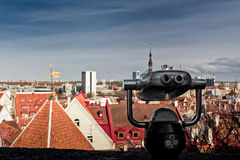 View To Tallinn Royalty Free Stock Image