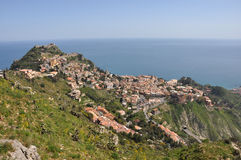 View to taormina, sicily Royalty Free Stock Image