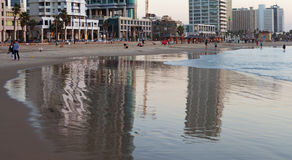 View to the Tel Aviv. Royalty Free Stock Photography