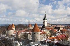 View To The Old Town Of Tallinn, Estonia Royalty Free Stock Image