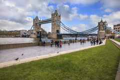 View to Tower Bridge in London Royalty Free Stock Photography