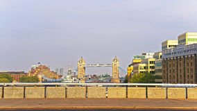 View to Tower Bridge over River Thames in London Royalty Free Stock Image