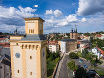 View to tower Kunstturm in Altenburg Thuringia Stock Photography