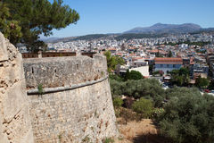 Fortress in Rethymno, Crete, Greece. Royalty Free Stock Photos