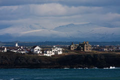 View to Trearddur Bay Royalty Free Stock Images