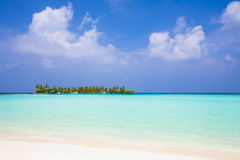 View to a tropical island Royalty Free Stock Photo