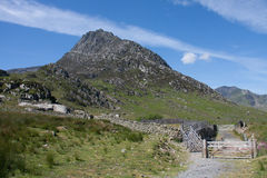 View to Tryfan Stock Photos