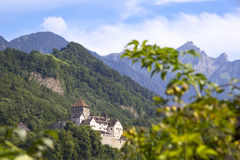 View to Vaduz, Liechtenstein. Stock Image