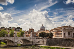 View to the Vatican, Rome Royalty Free Stock Images