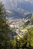 View to village Eisenerz in Styria Stock Image