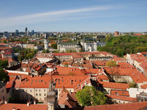 View to the Vilnius city well know places Stock Photo