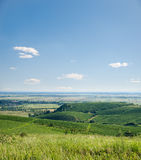View to vineyards Royalty Free Stock Photography