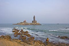 View to Vivekananda Memorial Royalty Free Stock Photo