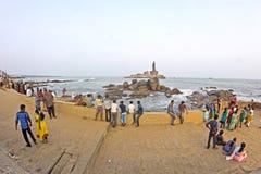 View to Vivekananda Memorial Stock Photos