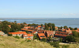 View to the Waddensea.Netherlands Stock Images