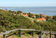 View to the Waddensea. Netherlands Stock Photography