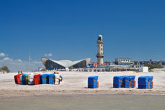 View to Warnemuende Royalty Free Stock Photography