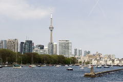 View to waterfront in toronto Royalty Free Stock Images