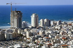 Tel-Aviv Cityscape Royalty Free Stock Images