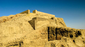 View to Western Deffufa temple in Kerma, Nubia, Sudan Royalty Free Stock Photography