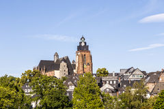 View to Wetzlar dome Royalty Free Stock Images