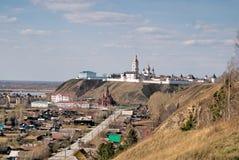 View at Tobolsk kremlin Stock Photography