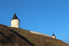 View on Tobolsk kremlin Royalty Free Stock Photos