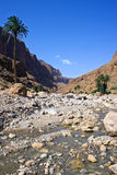 View of Todra Gorges Stock Photo