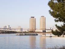 View of Tokyo Bay, Tokyo Royalty Free Stock Photos