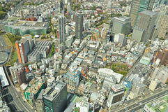 View of Tokyo City Royalty Free Stock Photos