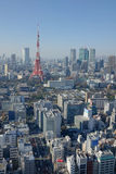 View of the Tokyo City Tower Royalty Free Stock Images