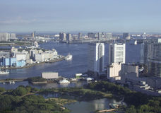 View of Tokyo Japan. View of the city of Tokyo in Japan Stock Photography