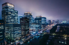 View in Tokyo Royalty Free Stock Images