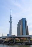 View of Tokyo Sky Tree. Royalty Free Stock Photos
