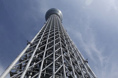 View of TOKYO Skytree. Royalty Free Stock Photos