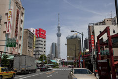 View of TOKYO Skytree Royalty Free Stock Photos
